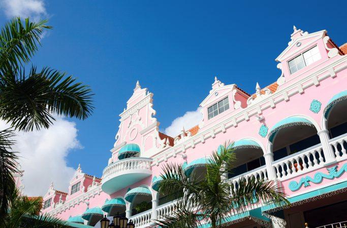 Aruba rakennuksia