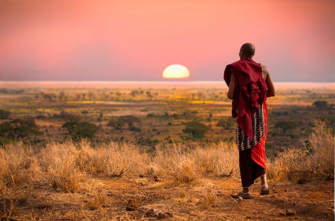 Kenia safari masaimies