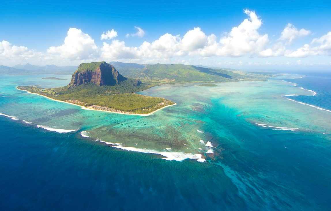 Mauritius ilmakuva