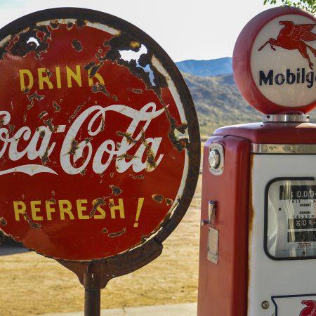 USA Route 66 bensa-asema