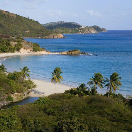 Antigua ja Barbuda ranta