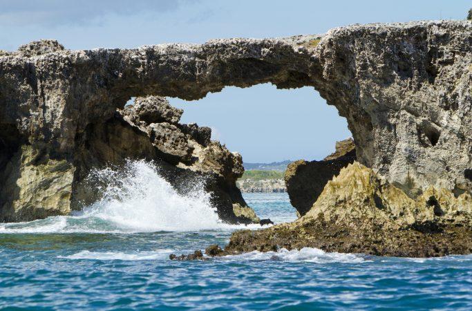Antigua ja Barbuda kivimuodostelma