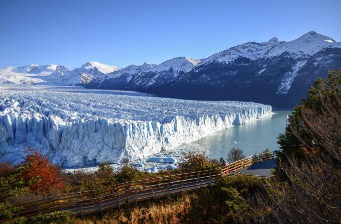 Argentiina Ushuaia jäätikkö