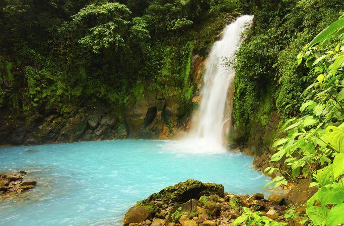 Costa Rica vesiputous