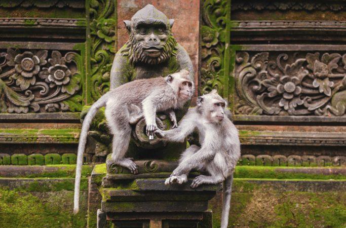 Indonesia Bali temppeli patsas