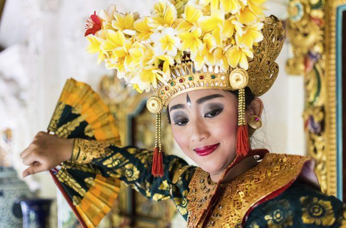 Indonesia Bali temppelitanssi