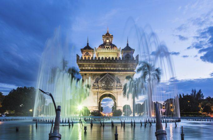 Laos linna
