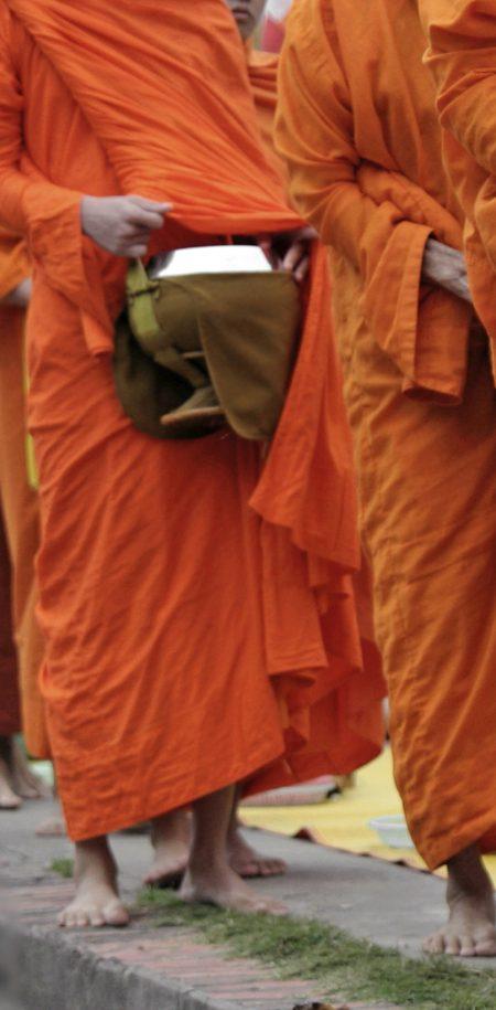 Laos buddha munkki