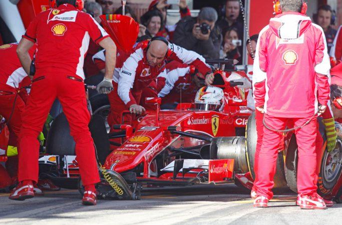 Matkateema Formula 1 varikko