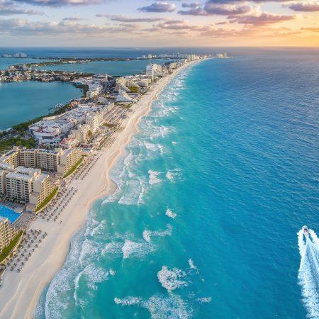 Meksiko Cancun Zona Hotelera