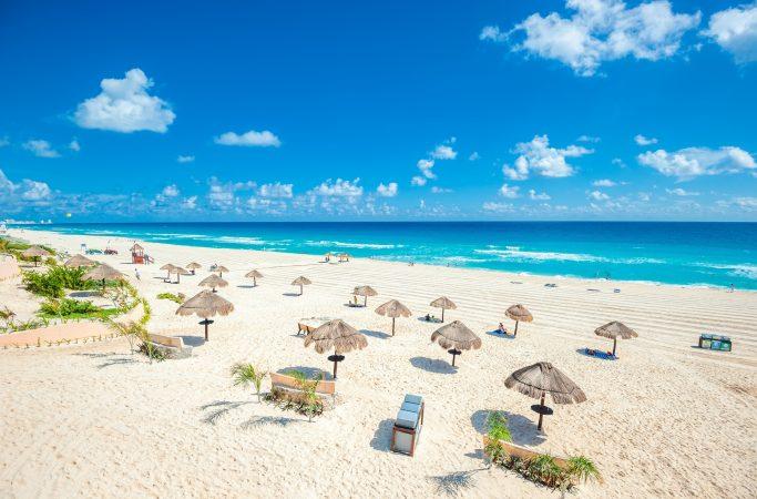Meksiko Cancun ranta