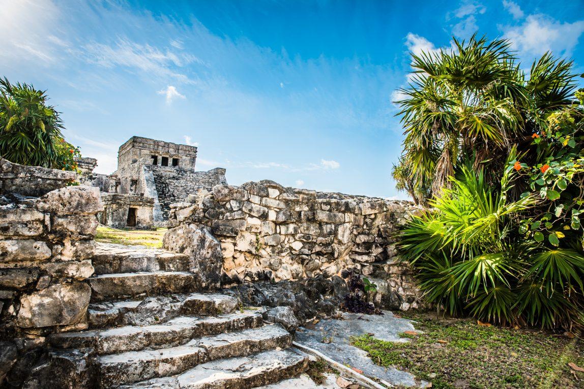 Meksiko Cancun temppeli