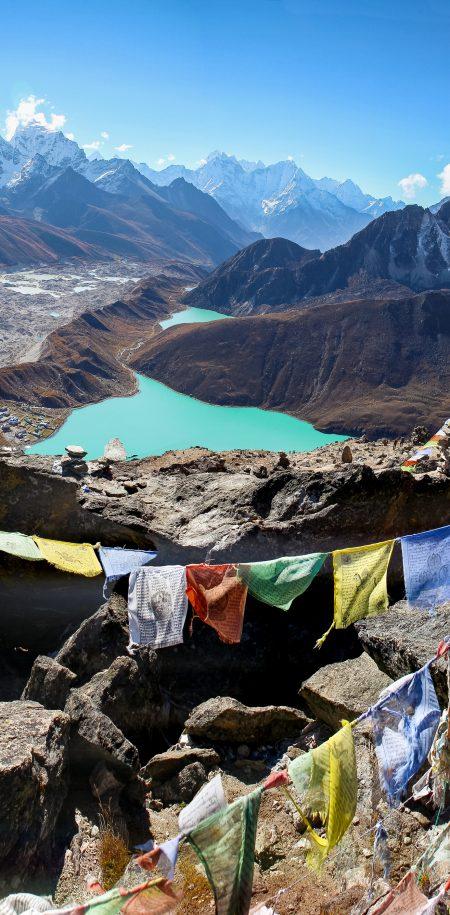 Nepal Mount Everest järvi
