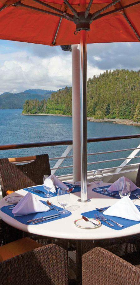 Risteily Oceania Cruises ravintola