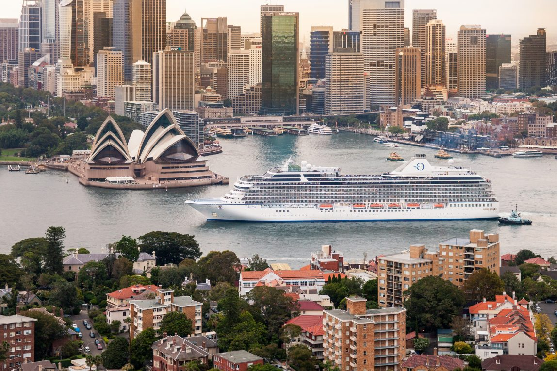 Risteily Oceania Cruises Australia Sydney