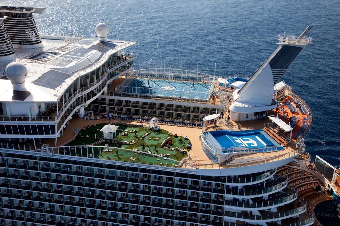Risteily Royal Caribbean merellä