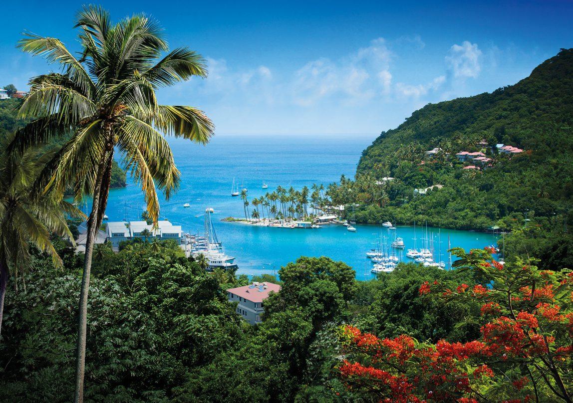 Karibia Saint Lucia satama