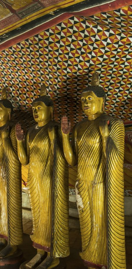 Sri Lanka buddha temppeli