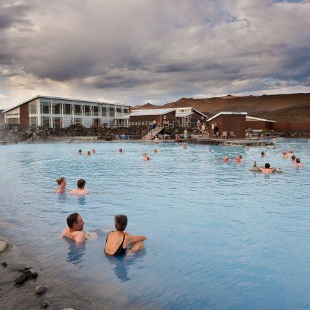Islanti Blue Lagoon kylpylä