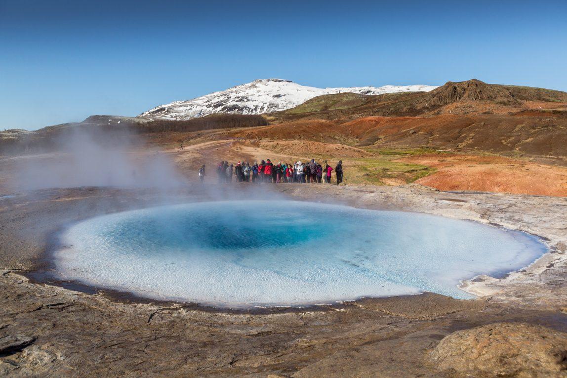 Islanti Strökkur geysir