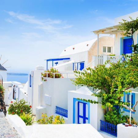 Kreikka Santorini taloja