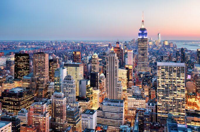 USA New York Empire State Building