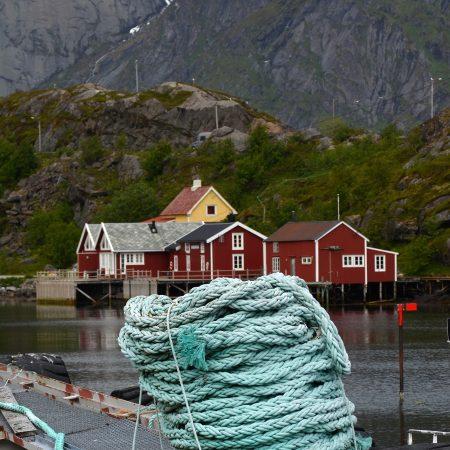 Risteily Hurtigruten köysi