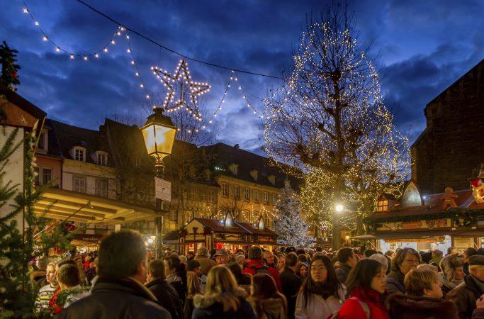 Teema joulu joulutori Saksa