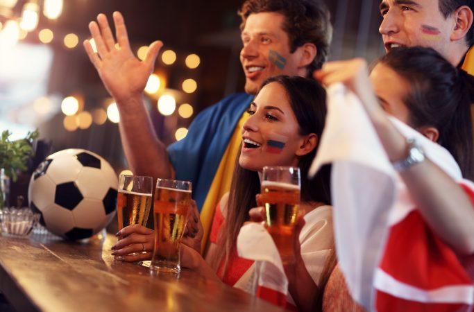 Matkateema jalkapallo olut