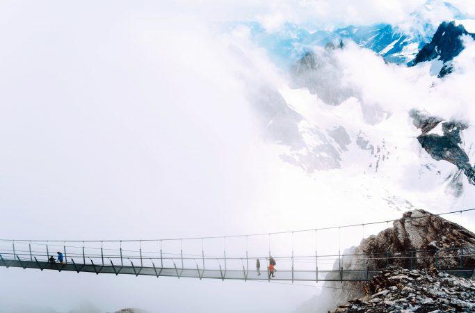 Sveitsi Engelberg riippusilta