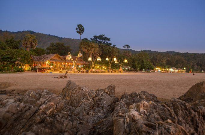 Thaimaa Koh Lanta ilta