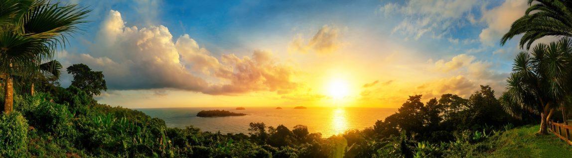 Thaimaa Koh Samui auringonlasku