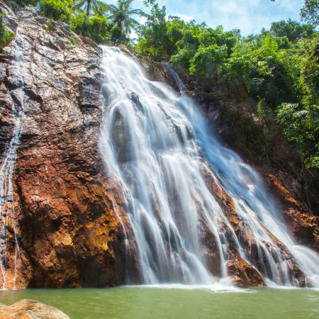 Thaimaa Koh Samui vesiputous