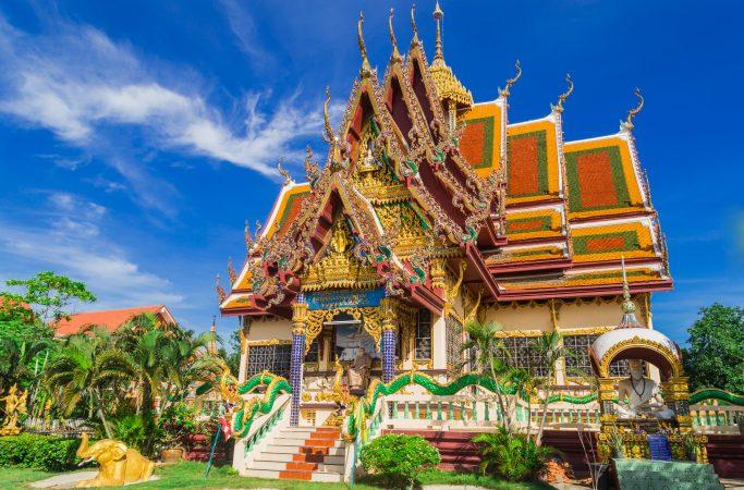 Thaimaa Koh Samui temppeli