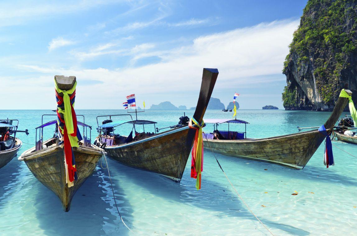Thaimaa Krabi veneitä