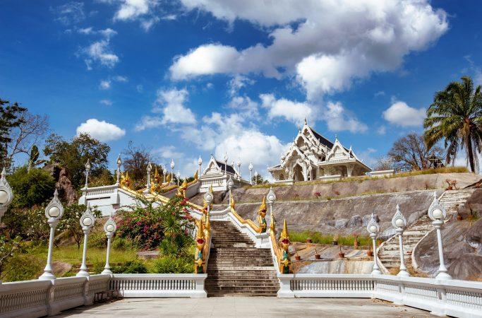 Thaimaa Krabi temppeli