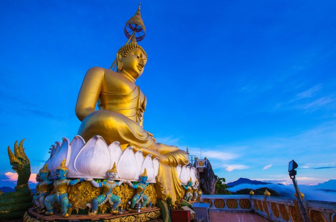 Thaimaa Krabi buddha
