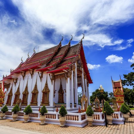 Thaimaa Phuket temppeli