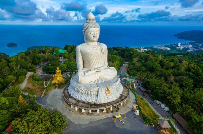 Thaimaa Phuket buddha