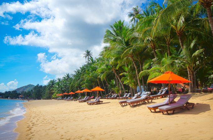 Thaimaa Phuket ranta