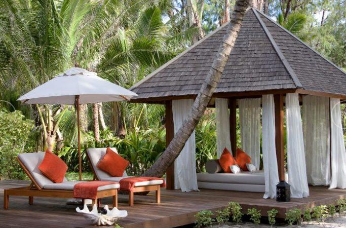 Seychellit Denise Island cabana
