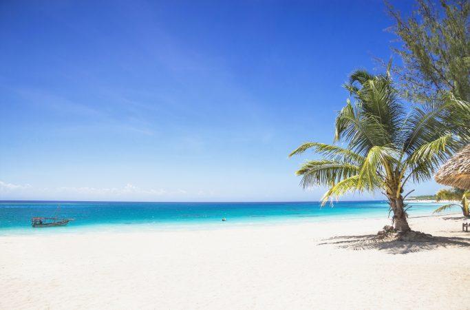 Seychellit Denise Island ranta