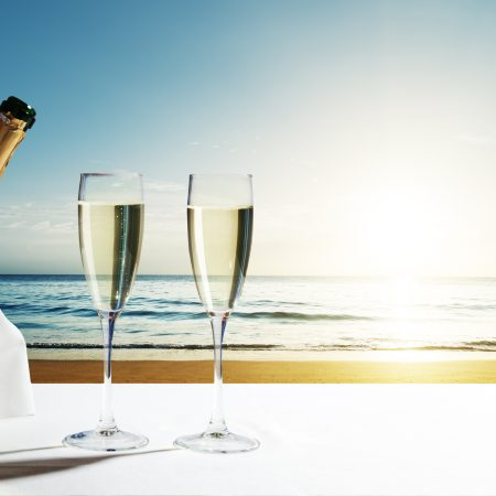 Seychellit Denise Island shampanja