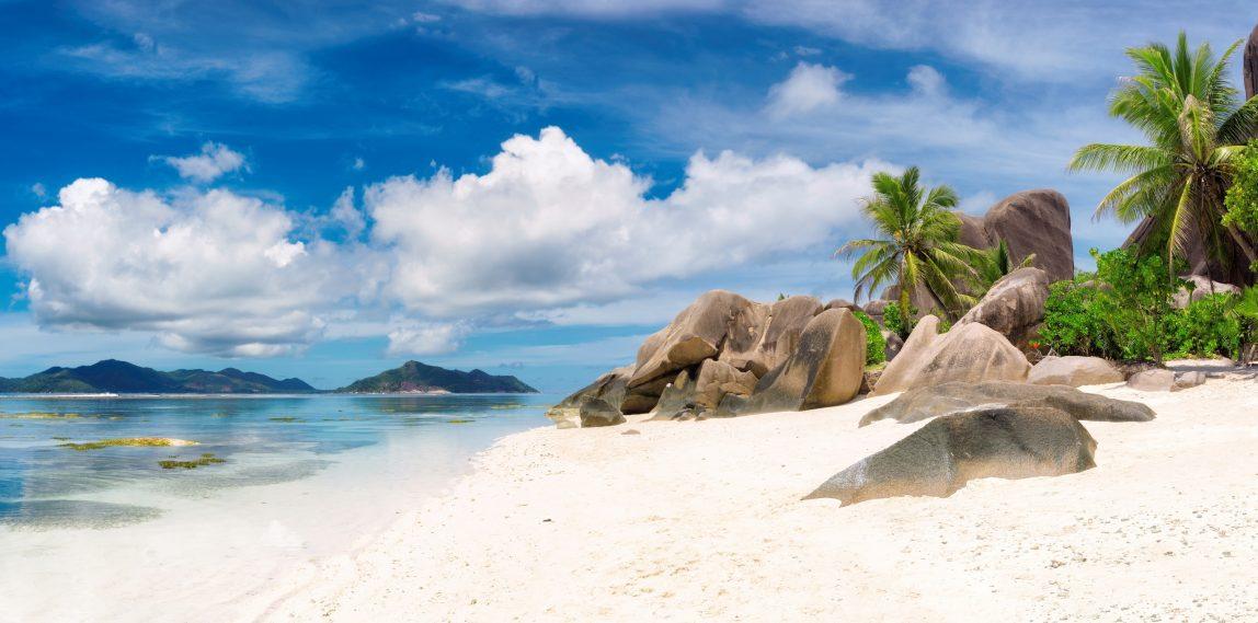 Seychellit La Digue Anse Source D'Argent ranta