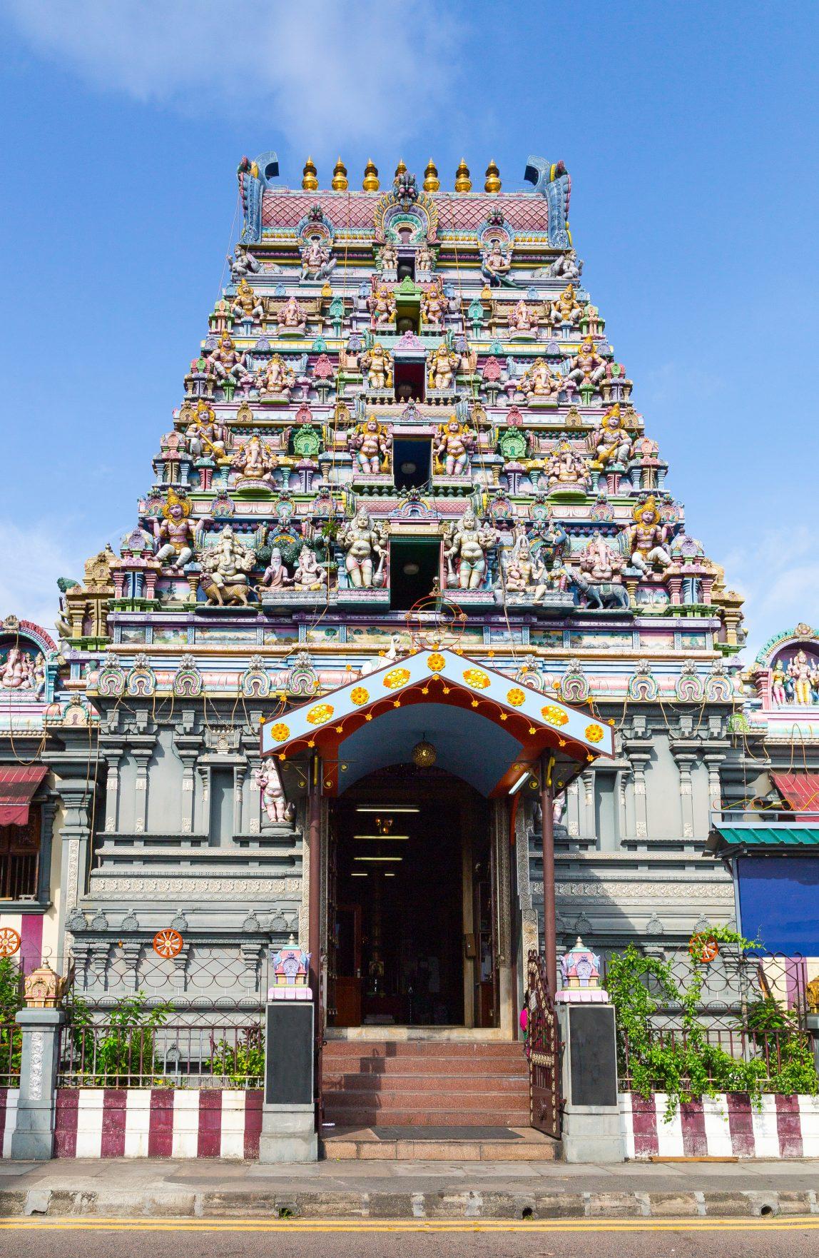 Seuchellit Mahe Victoria temppeli