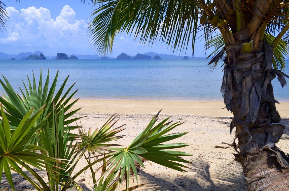 Thaimaa Koh Yao Noi ranta