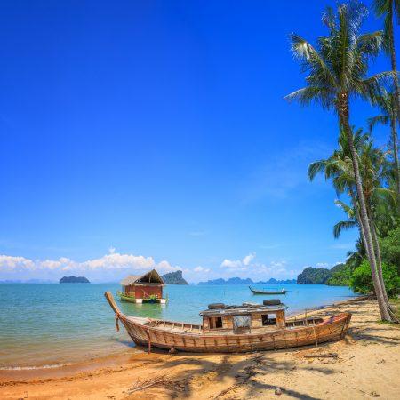 Thaimaa Koh Yao Noi vene