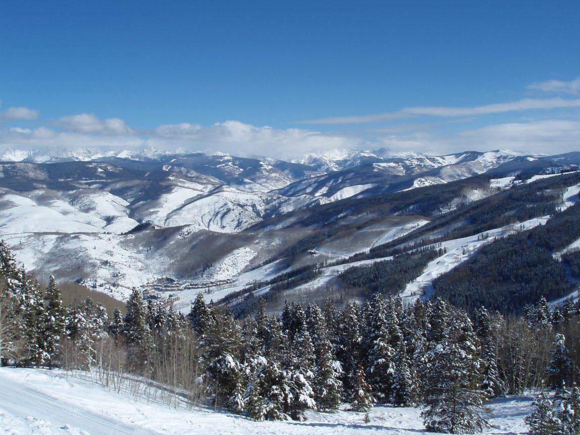 USA Colorado Vail vuorimaisema