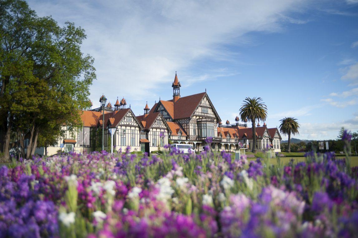 Uusi-Seelanti Rotorua vanha talo