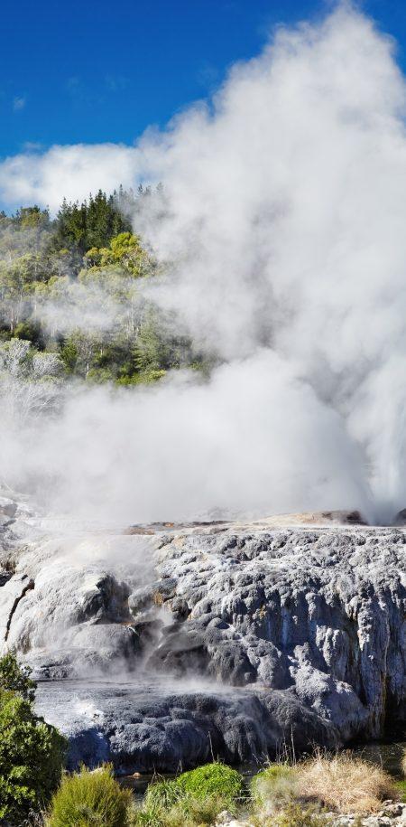 Uusi-Seelanti Rotorua geysir